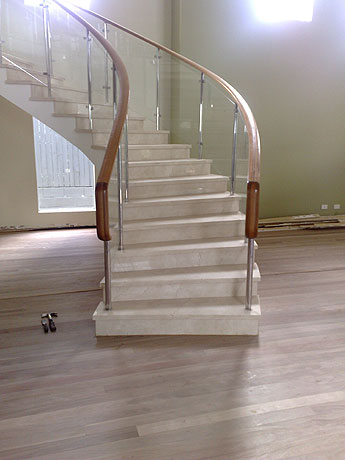 timber flooring stairs Brisbane